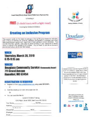 Head Start Inclusive Program